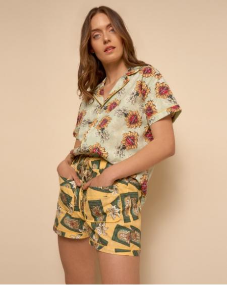Short y Camisa Dama